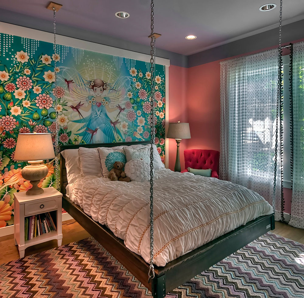 Creative Hanging Bed Ideas For Amazing Homes 8 Creative Hanging Bed Ideas For Amazing Homes
