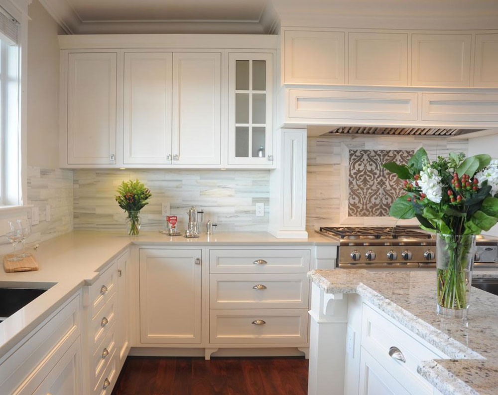White Tile Backsplashes Don't Have To Be Boring7 White Tile Backsplash Design Ideas