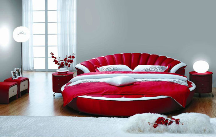 72436721232 Designs of round beds for your bedroom