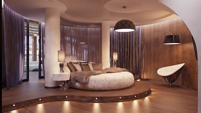 72436739406 Designs of round beds for your bedroom