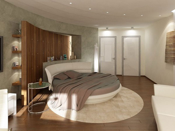 72436694211 Designs of round beds for your bedroom
