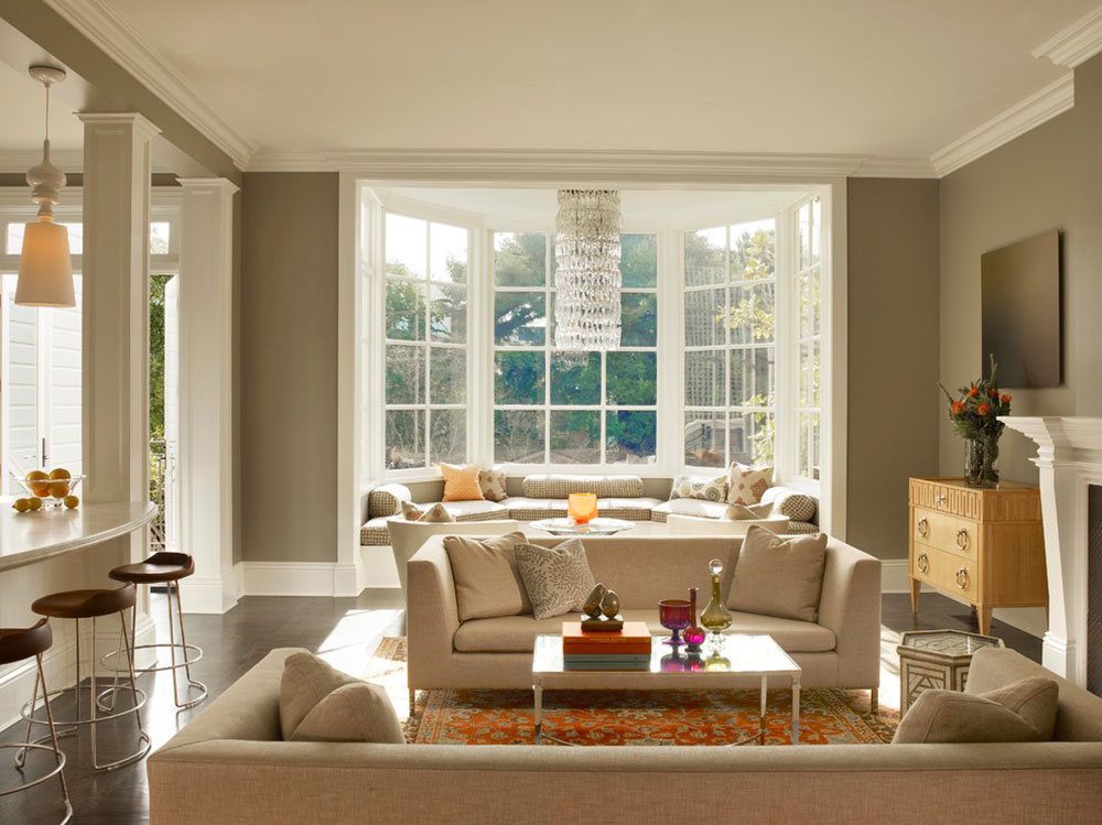 Homey-Feelings-With-These-Bay-Window-Decor-7 bay window decor to try out in your home