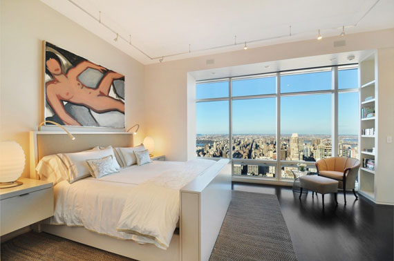 man7 Minimalist penthouse in Manhattan with glass exterior walls