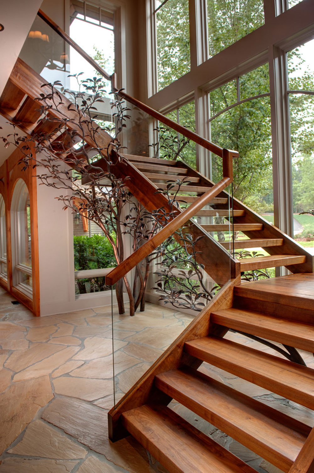 Modern and Exquisite Floating Staircase7 Modern and exquisite floating staircase designs