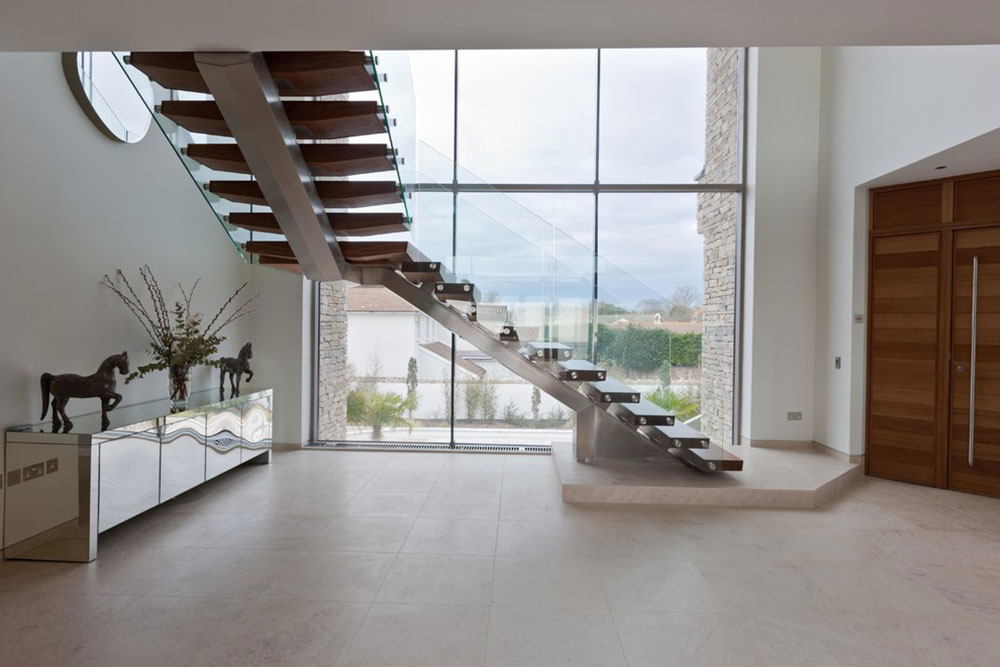 Modern and exquisite floating staircase1 Modern and exquisite floating staircase designs