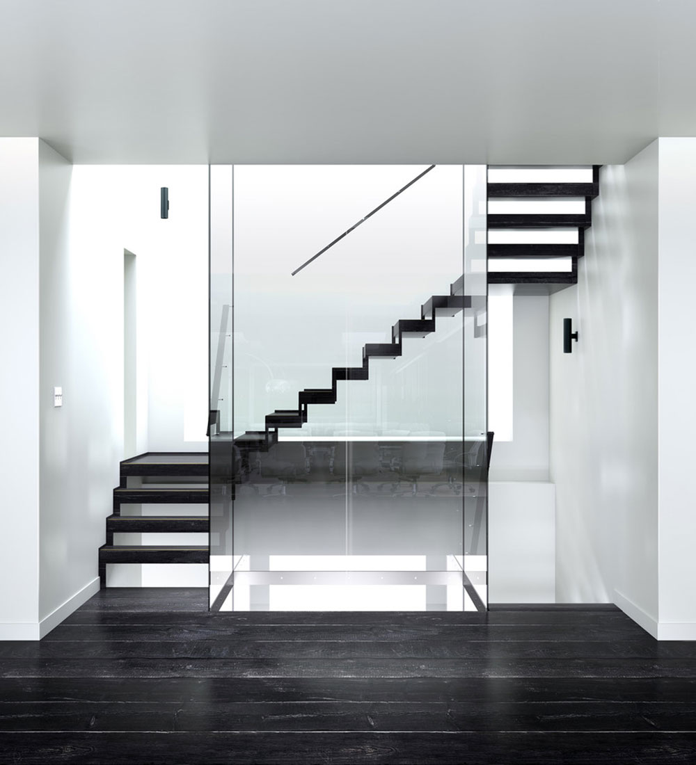 Modern and exquisite floating staircase9 Modern and exquisite floating staircase designs