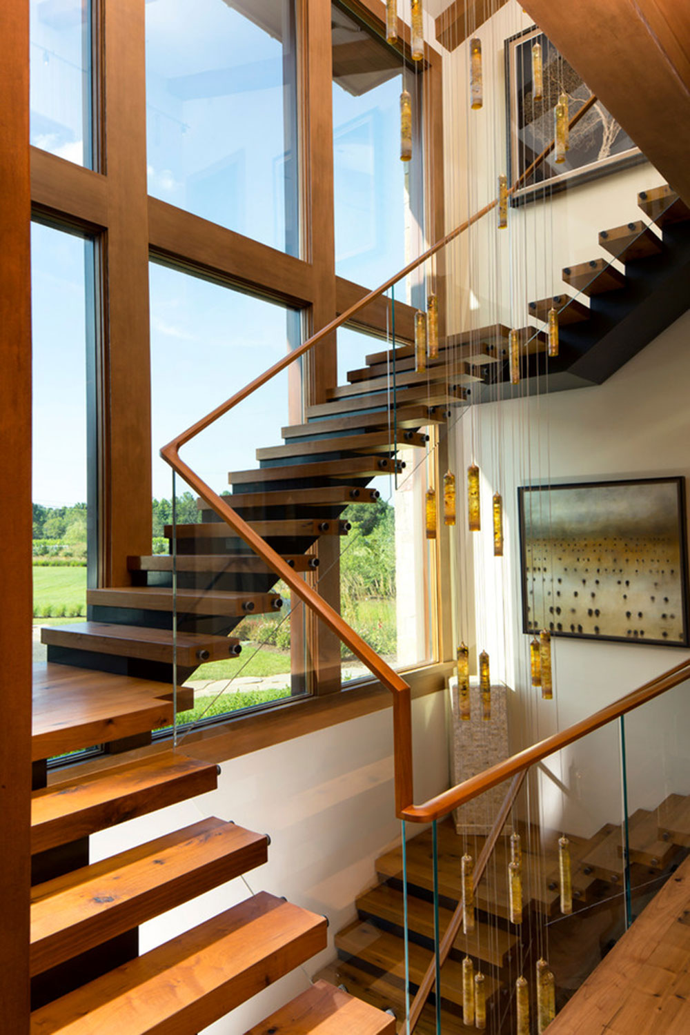 Modern and Exquisite Floating Staircase4 Modern and exquisite floating staircase designs
