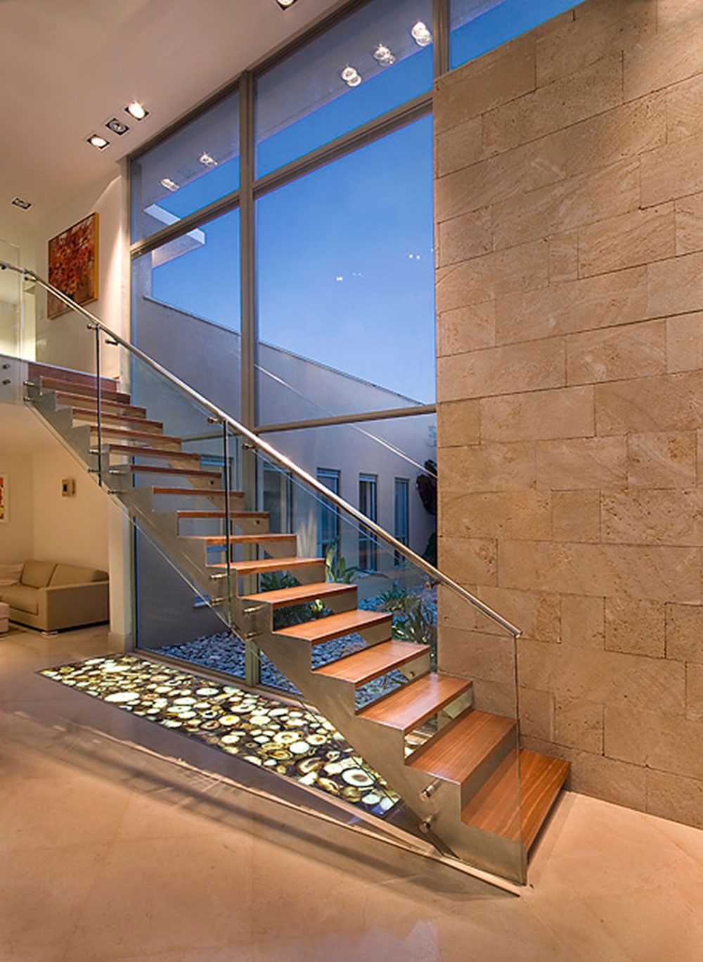 Modern and Exquisite Floating Staircase3 Modern and exquisite floating staircase designs