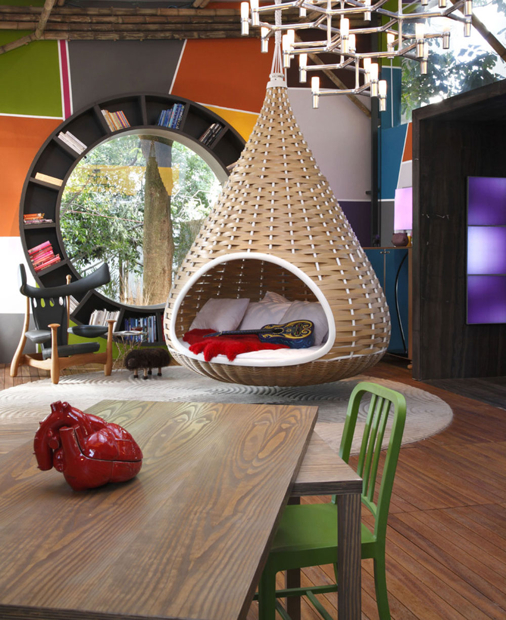 Indoor and outdoor cocoon chairs for more comfort1 Indoor and outdoor cocoon chairs for more comfort