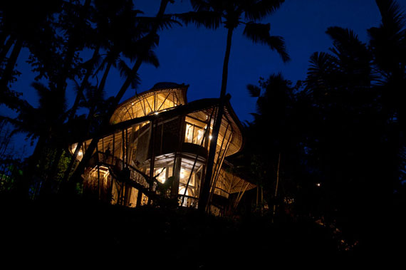 bal25 Eco-friendly houses as part of a green village in Bali Designed by Ibuku Studio