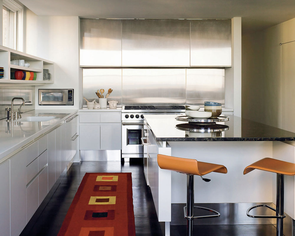 Stainless Steel-Backsplash-Benefits-Tips-and-Ideas11 Stainless Steel-Backsplash - Benefits, Tips, and Ideas