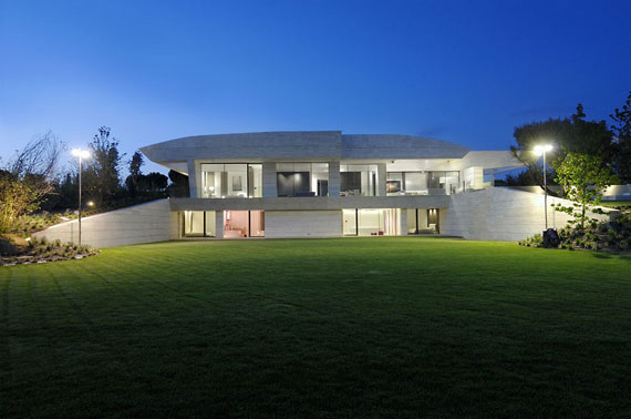 m3 House With Marble Exterior Designed By A-Cero In Pozuelo de Alarcón, Madrid