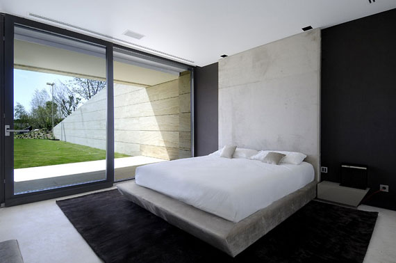 m19 House with Marble Exterior Designed by A-Cero in Pozuelo de Alarcón, Madrid