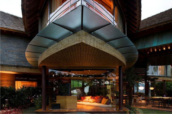 13 The incredible leaf house by Mareines + Patalano Arquitetura