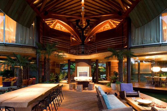 l14 The incredible leaf house of Mareines + Patalano Arquitetura