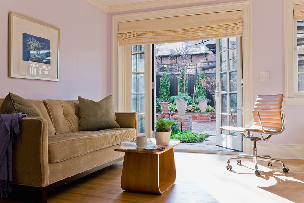 Window treatments for French doors1 Window treatments for French doors