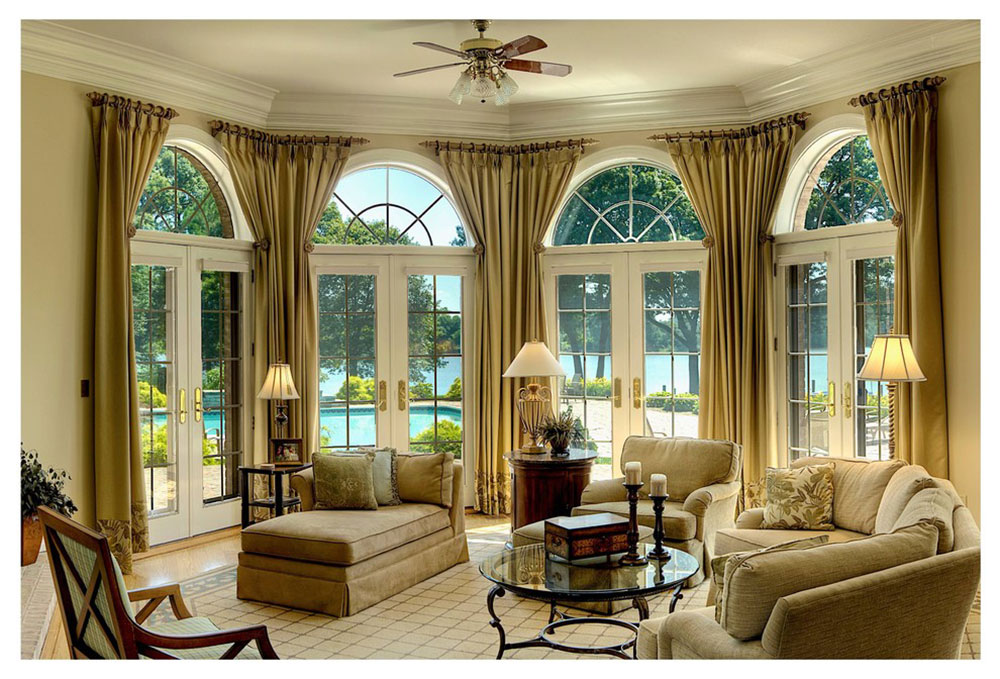 Window treatments for French doors8 window treatments for French doors