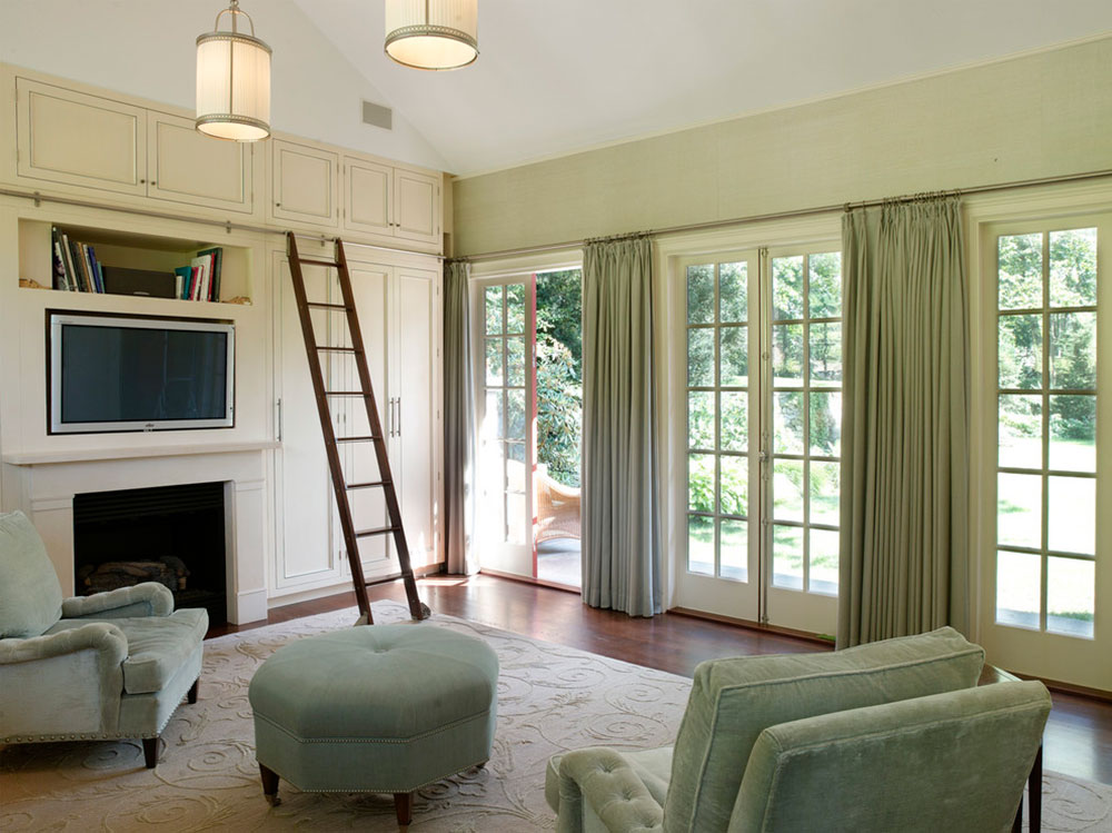 Window Treatments for French Doors3 window treatments for French doors