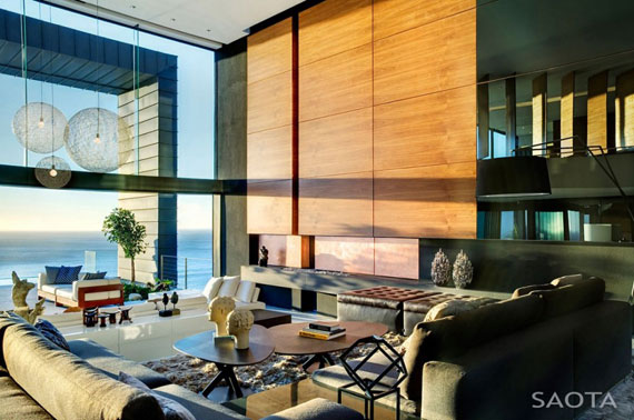 af7 Splendid House in South Africa By SAOTA Architects and OKHA Interiors