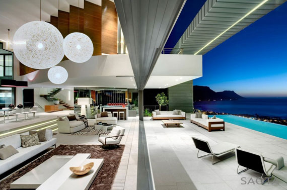 af5 Splendid House in South Africa By SAOTA Architects and OKHA Interiors