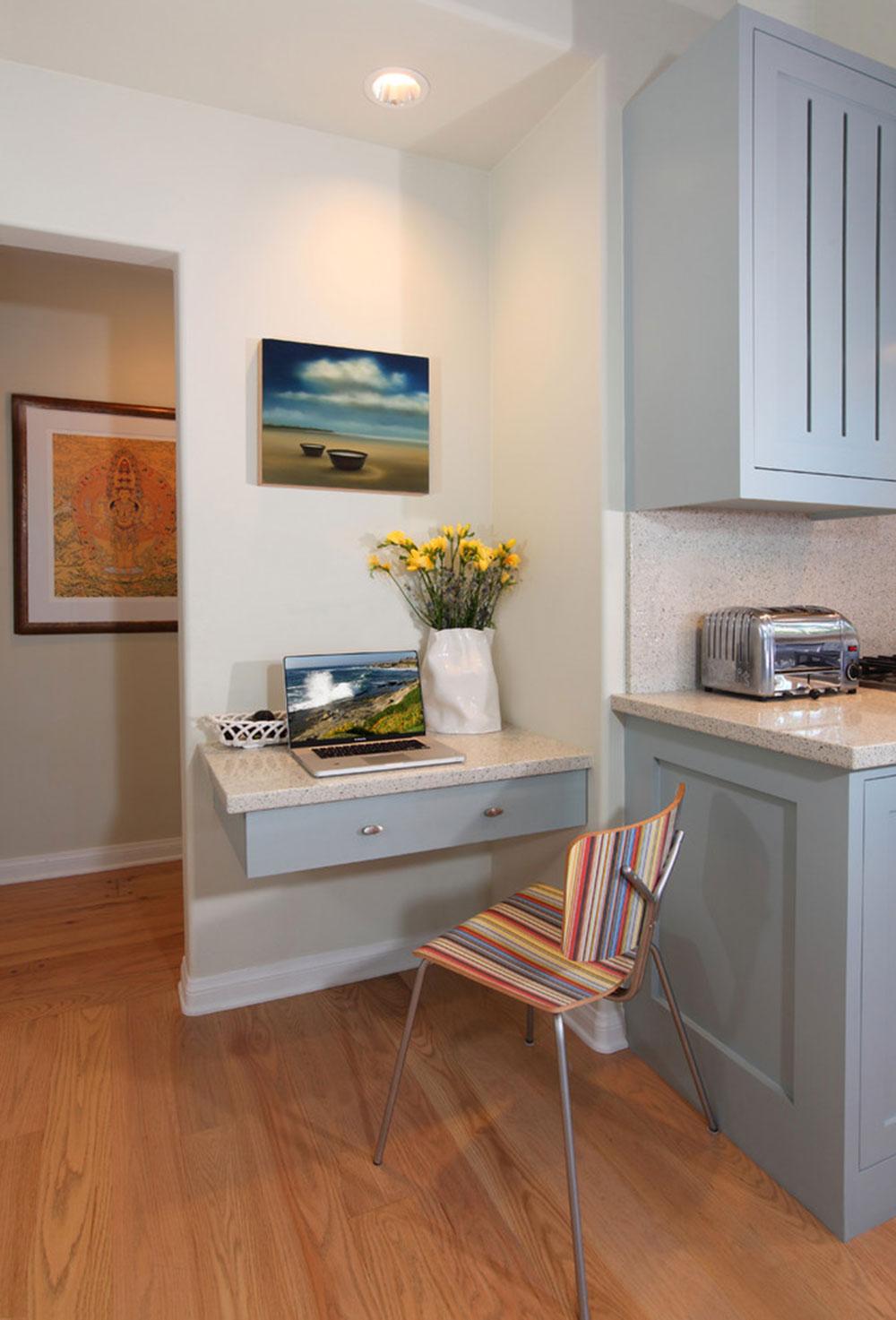 Diy-wall-desk-for-a-pleasant-job1 DIY wall-mounted desk design ideas