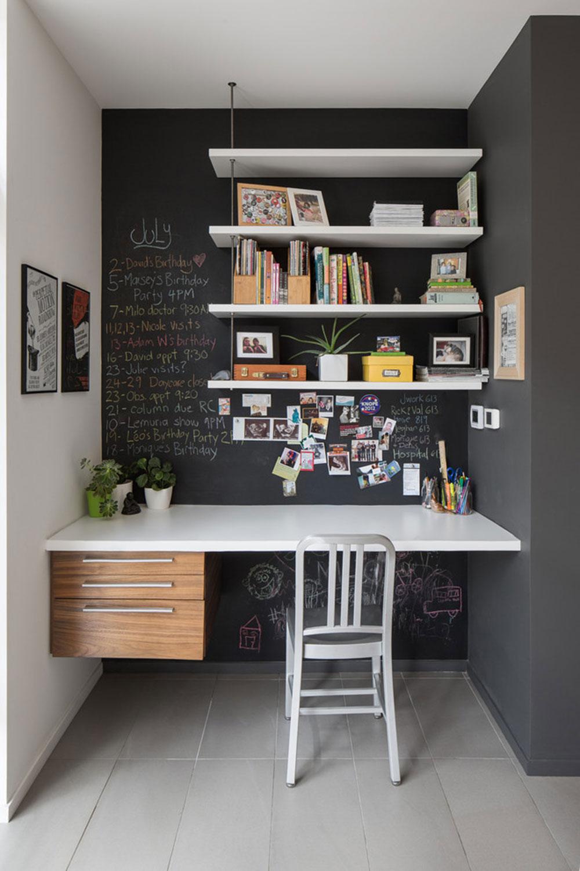 Diy-wall-desk-for-a-pleasant-job7 DIY wall-desk design ideas