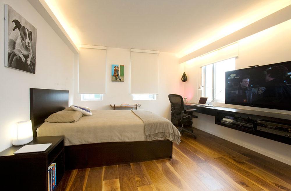 Diy-wall-desk-for-a-pleasant-job6 DIY wall-mounted desk design ideas