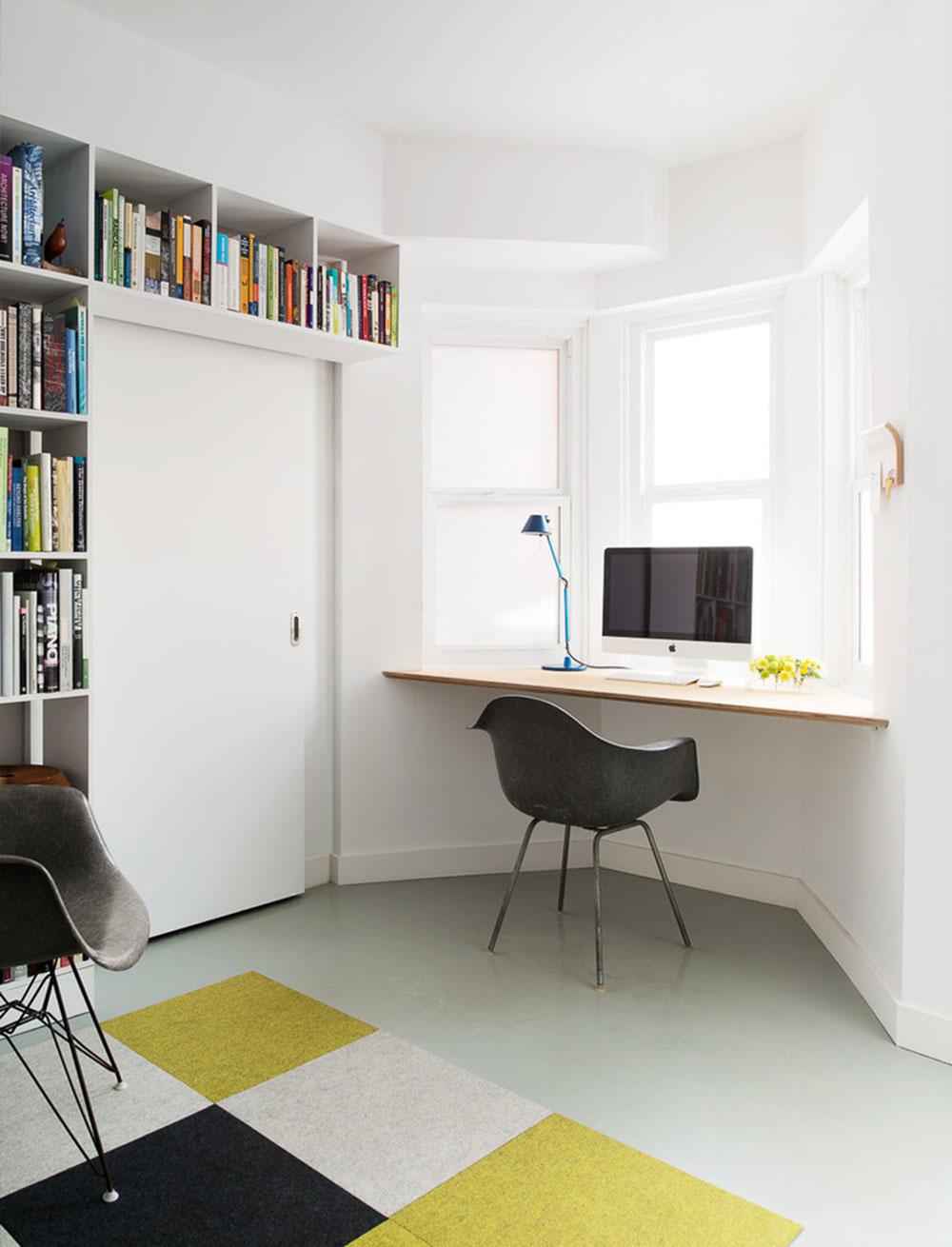 Diy-wall-desk-for-a-pleasant-job11 DIY wall-mounted desk design ideas