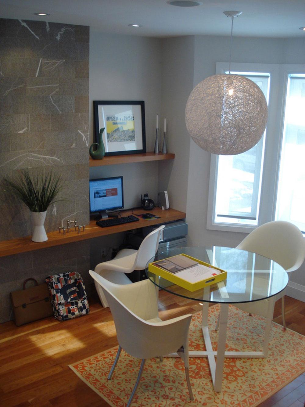 Diy-wall-desk-for-a-pleasant-job3 DIY wall-desk design ideas
