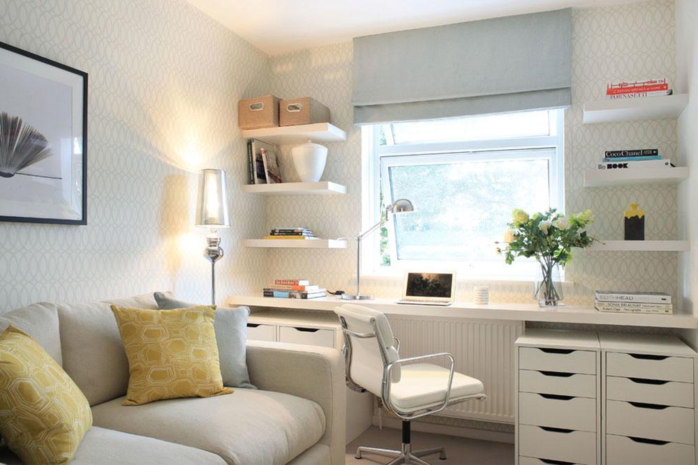 Diy-wall-desk-for-a-pleasant-job2 DIY wall-desk design ideas