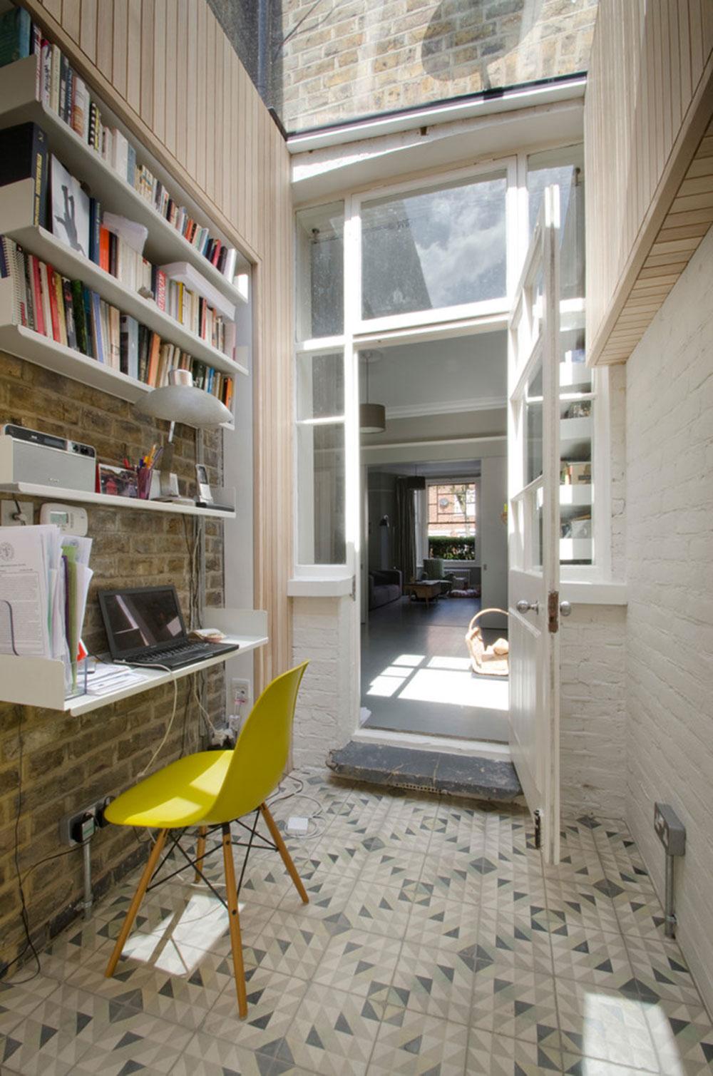 Diy-wall-desk-for-a-pleasant-job9 DIY wall-mounted desk design ideas