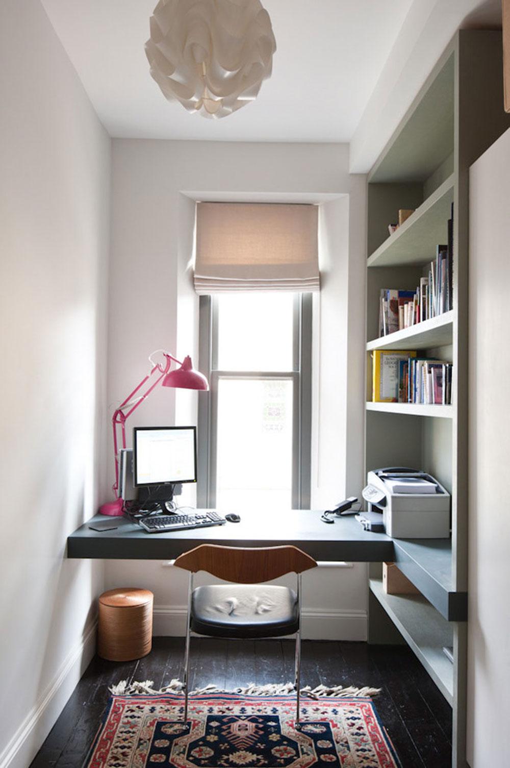 Diy-wall-desk-for-a-pleasant-job10 DIY wall-mount desk design ideas