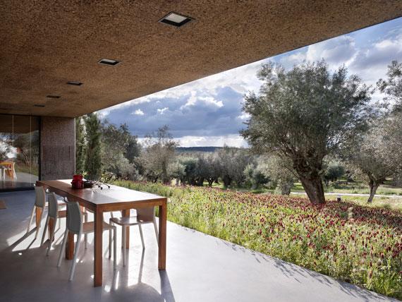 casa9 All white walls Villa Extramuros In Arraiolos Designed by Vora Arquitectura