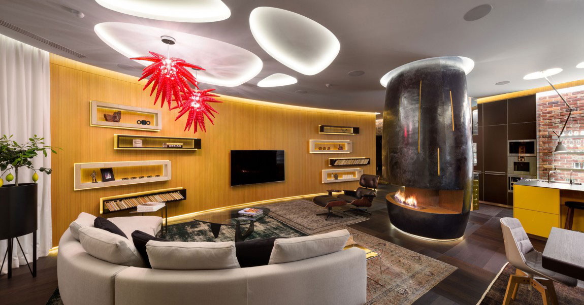 Unforgettable apartment in Kiev-Designed-by-Studio-BARABAN-4 Unforgettable apartment in Kiev Designed By Studio BARABAN
