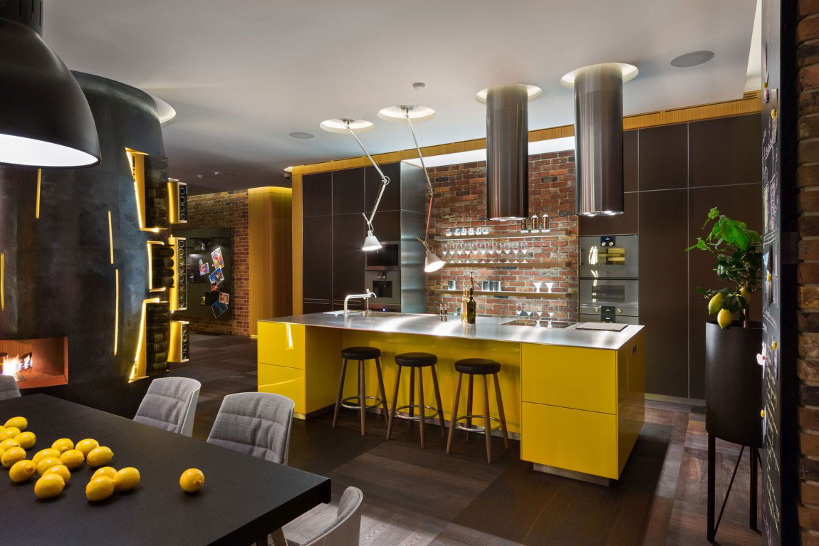 Unforgettable Apartment in Kiev-Designed-by-Studio-BARABAN-8 Unforgettable Apartment in Kiev Designed By Studio BARABAN