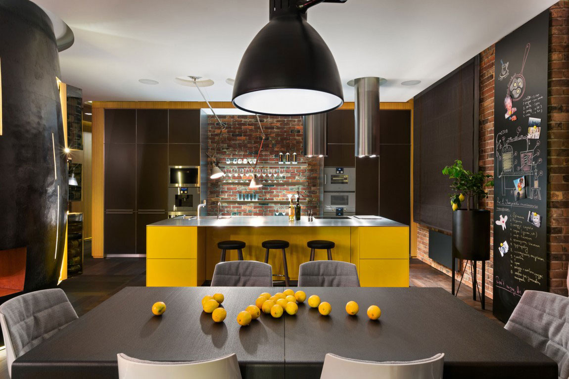 Unforgettable apartment in Kiev-Designed-by-Studio-BARABAN-7 Unforgettable apartment in Kiev Designed By Studio BARABAN