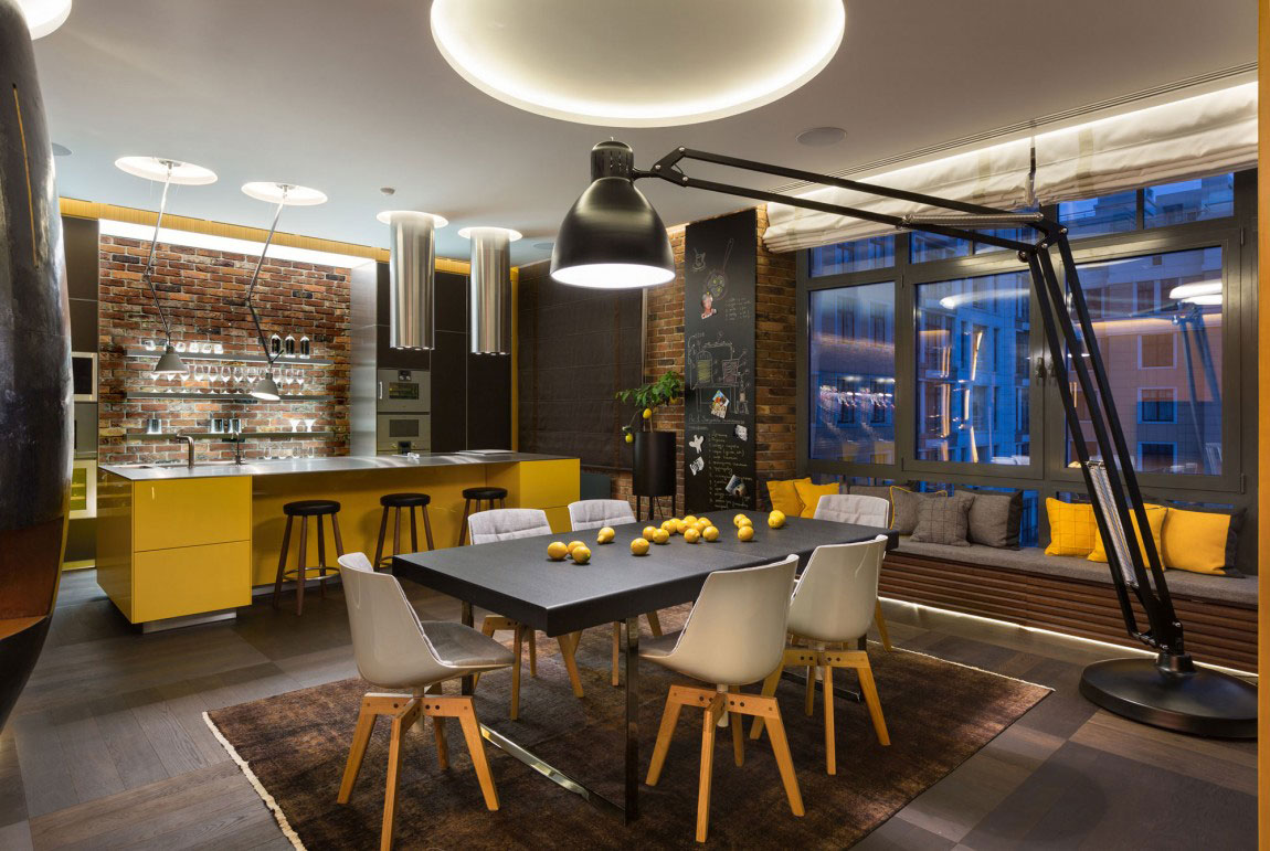 Unforgettable Kiev apartment designed by Studio BARABAN-11 Unforgettable Kiev apartment designed by Studio BARABAN