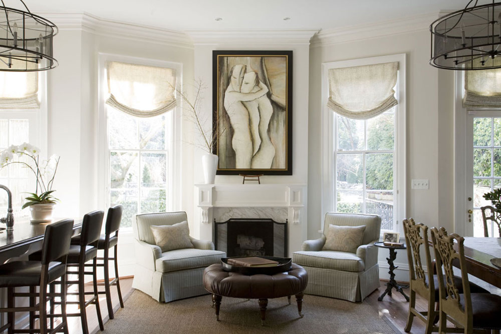 How to decorate with white1 How to decorate with white