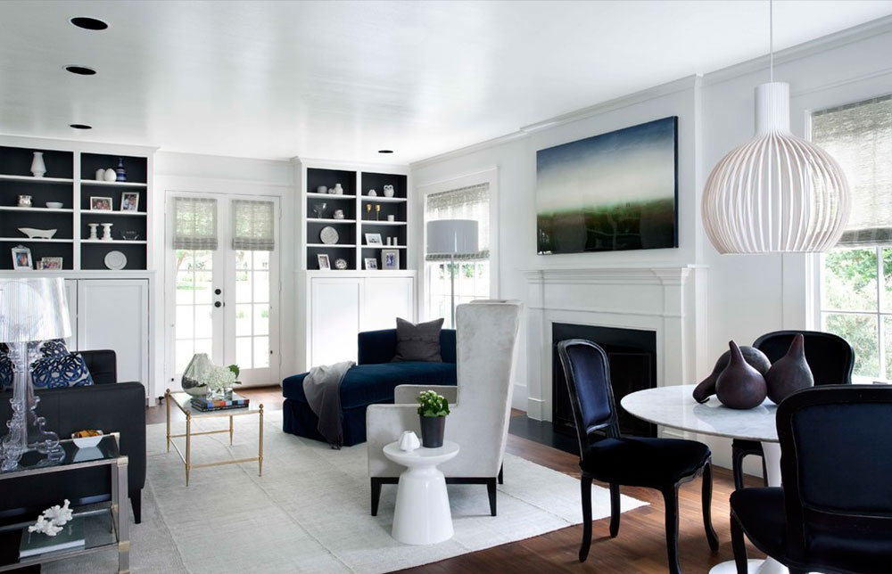 How to decorate with white5 How to decorate with white