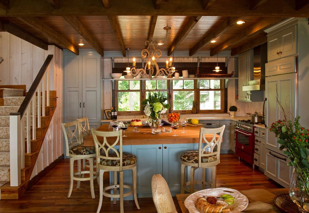 Cottage-Style-Kitchen-Designs-Easy-To-Tain9 Cottage Style Kitchen Designs