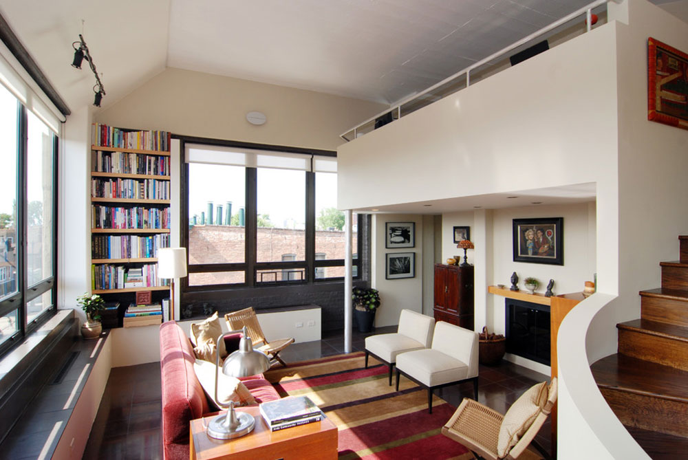 Useful tips for designing a loft4 Useful tips for designing a loft