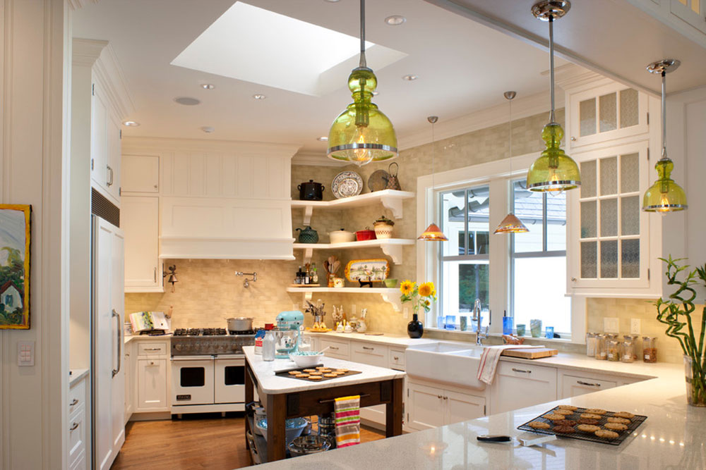 Open kitchen cabinets are easier to use14 Open kitchen cabinets are easier to use