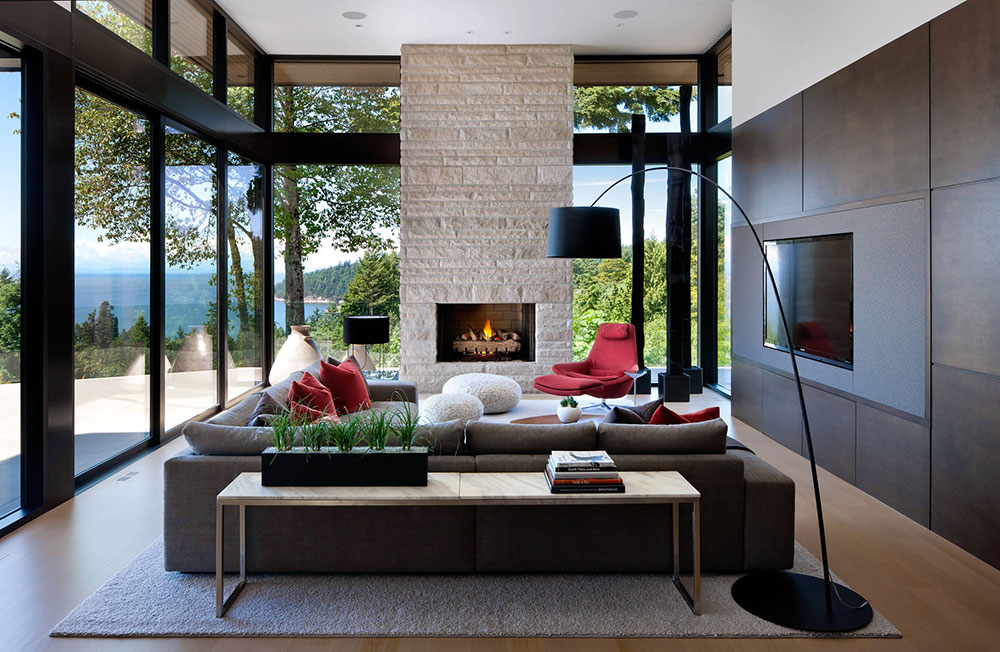 West Vancouver Residence Claudia Leccacorvi Modern interior design styles