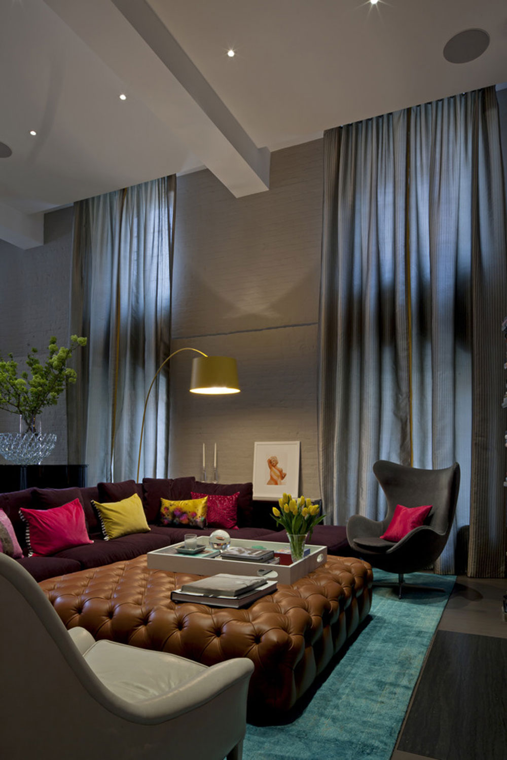 Accent wall-color-combinations-for-stunning-effect 8 accent-wall-color-combinations for stunning-effect