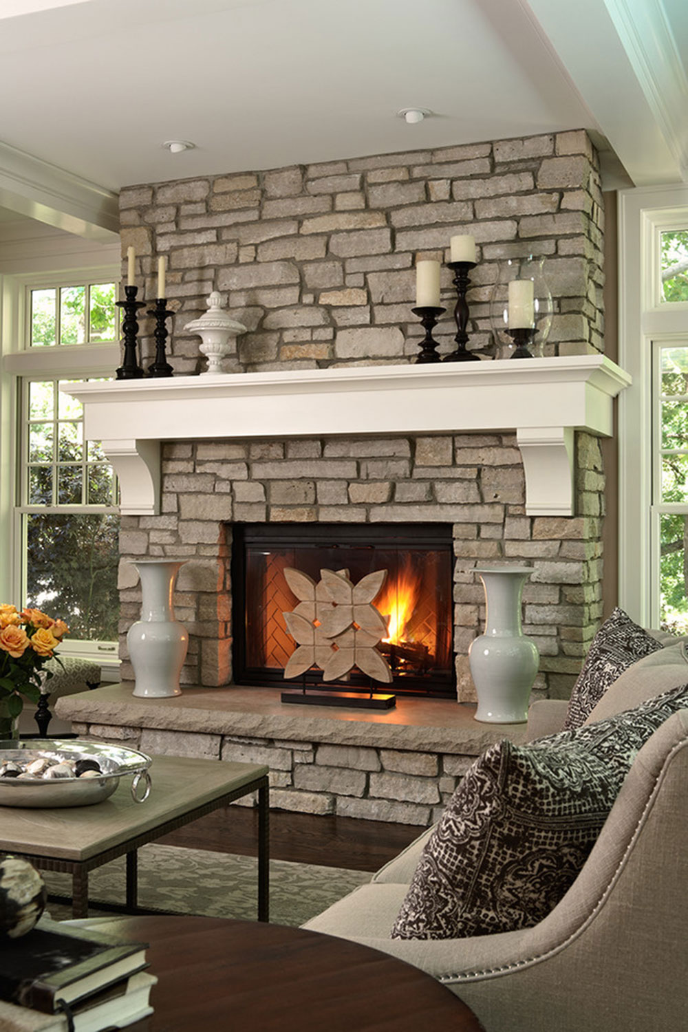 Fireplace cladding decoration ideas for a cozy home 3 fireplace cladding decoration ideas for a cozy home