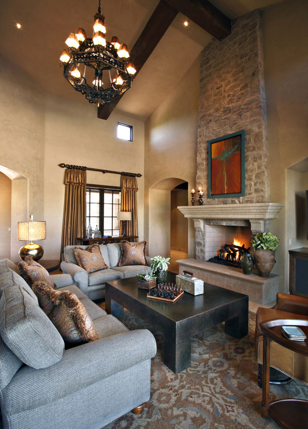 Fireplace cladding decoration ideas for a cozy home 6 fireplace cladding decoration ideas for a cozy home