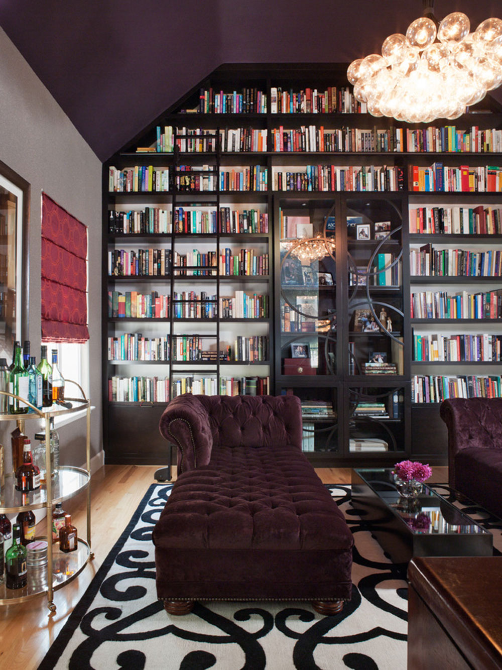 Creating a Home Library Design Makes for a Relaxing Space8 Creating a Home Library Design Makes for a Relaxing Space