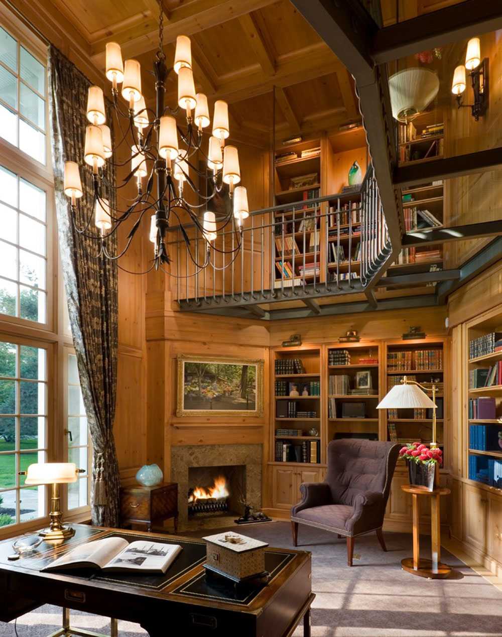 Creating a Home Library Design Makes for a Relaxing Space6 Creating a Home Library Design Makes for a Relaxing Space
