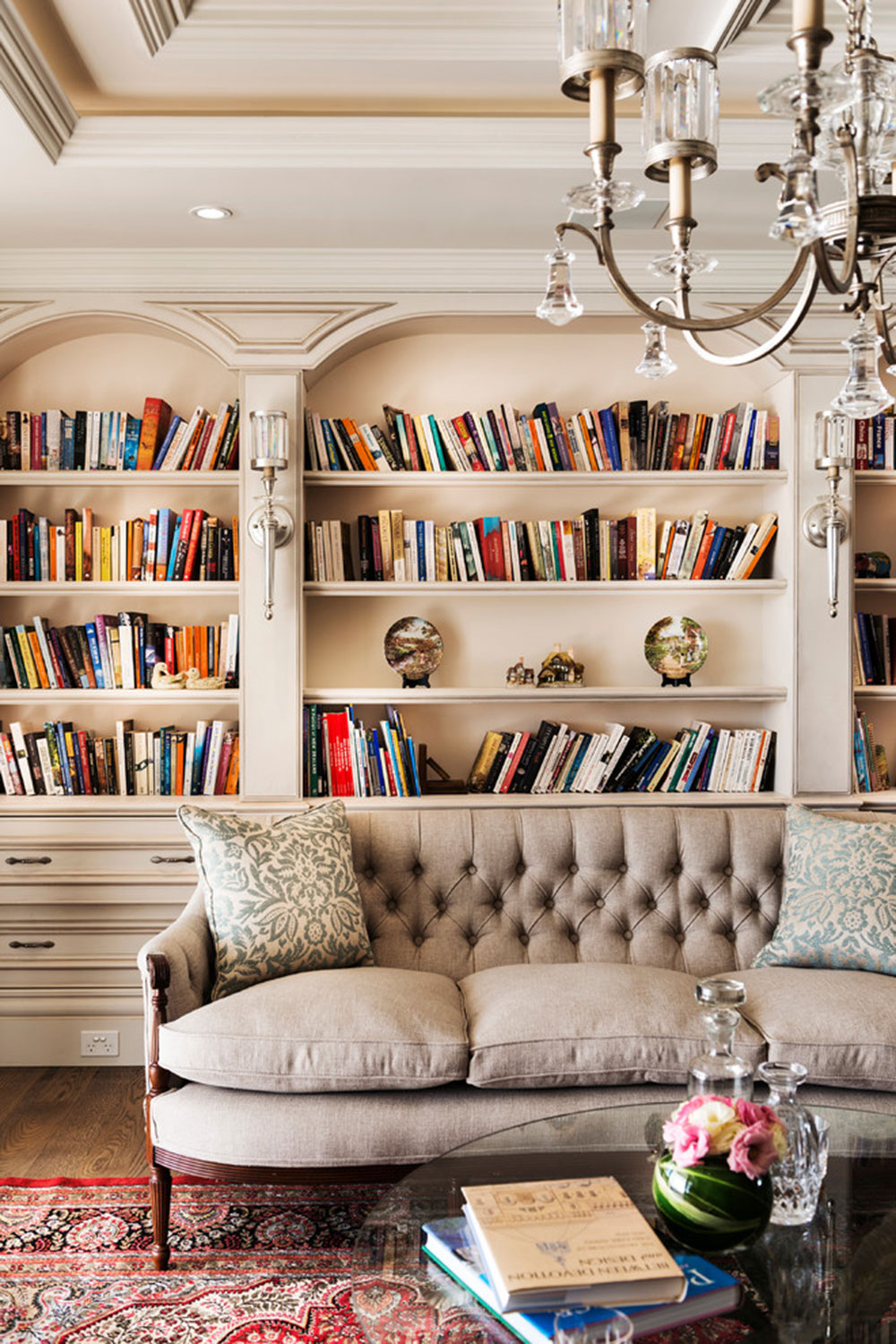 Creating a Home Library Design Makes for a Relaxing Space5 Creating a Home Library Design Makes for a Relaxing Space