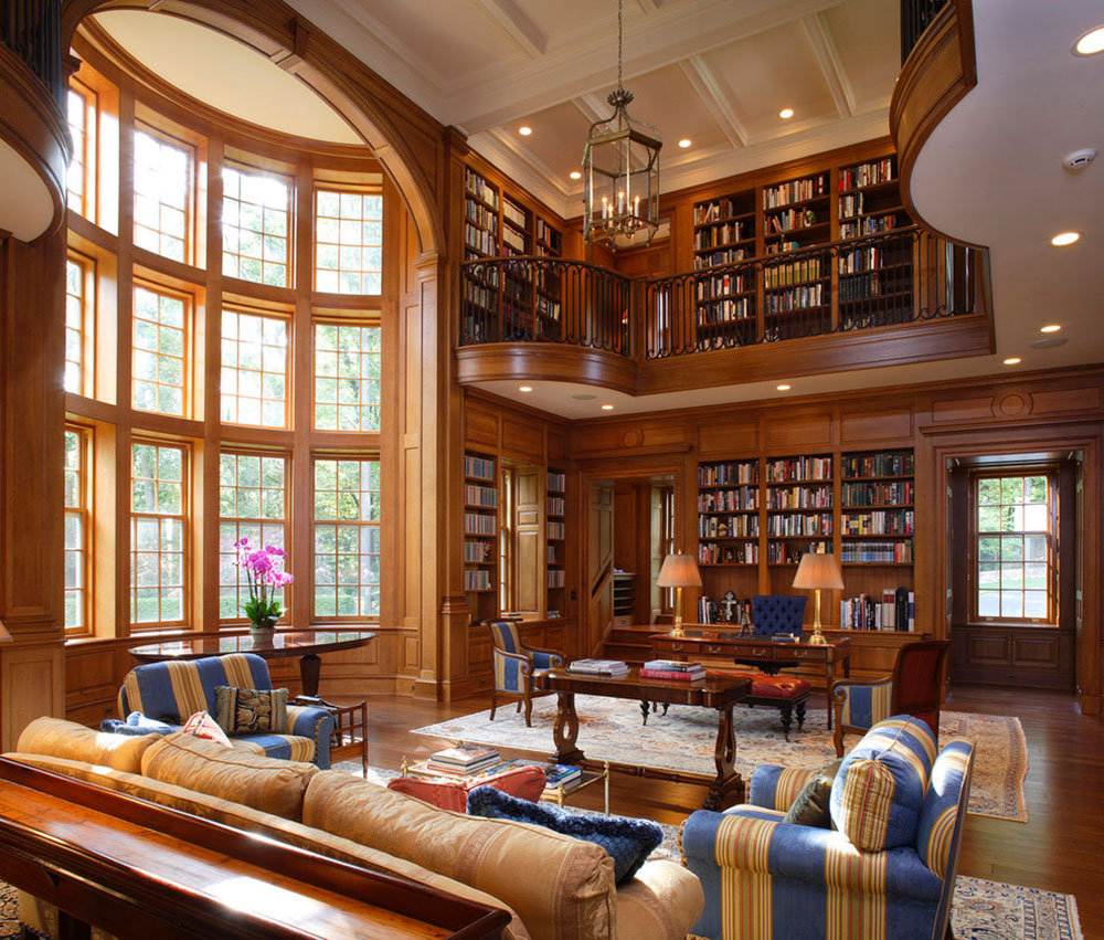 Creating a Home Library Design Makes for a Relaxing Space11 Creating a Home Library Design makes for a relaxing space